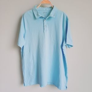 2/$15 Apt. 9 Men's Icy Blue Polo Shirt size XL